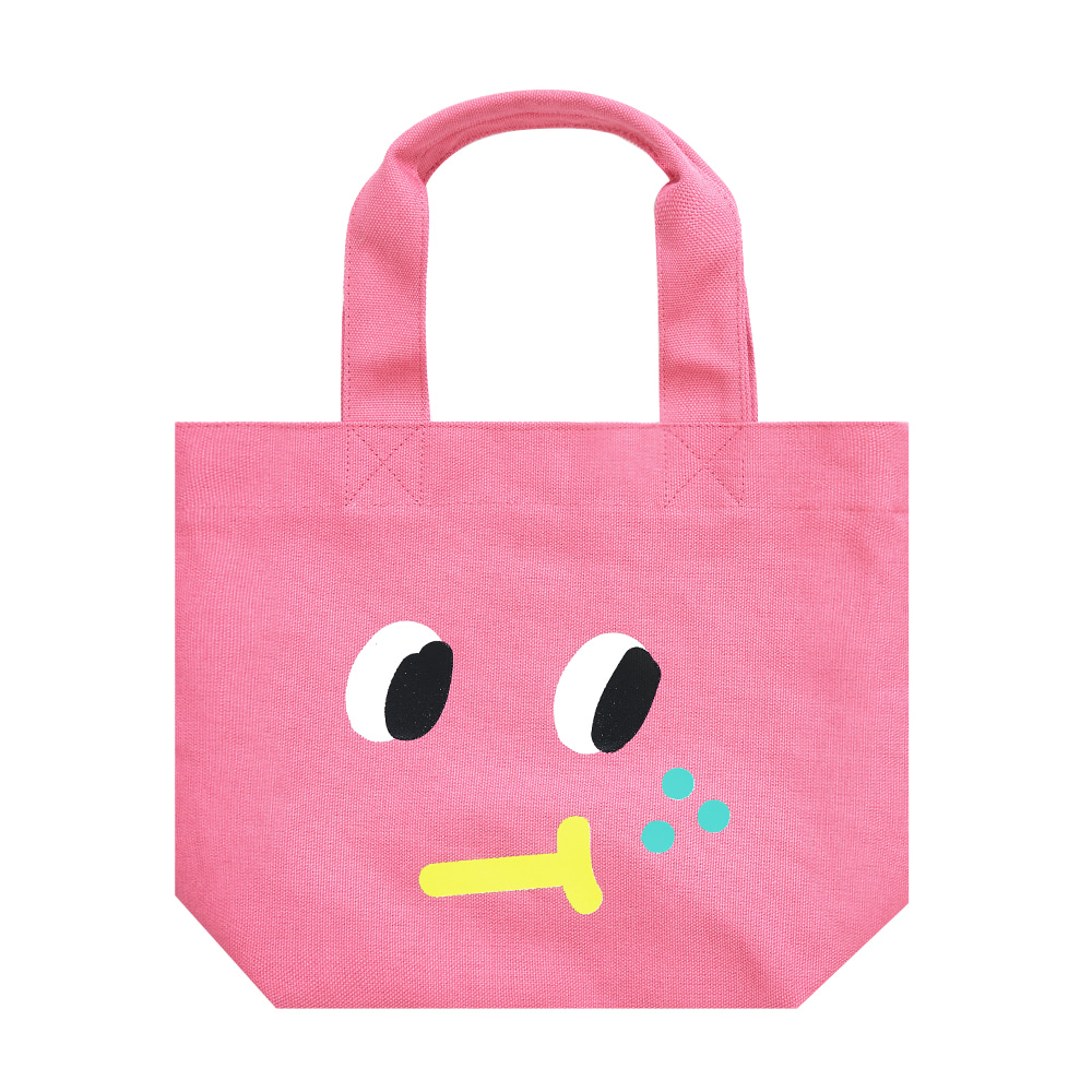 slowcoaster pink freckle tote
