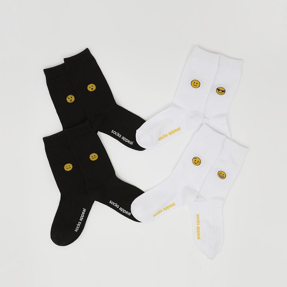 Emoji Socks 2pack (17% OFF)