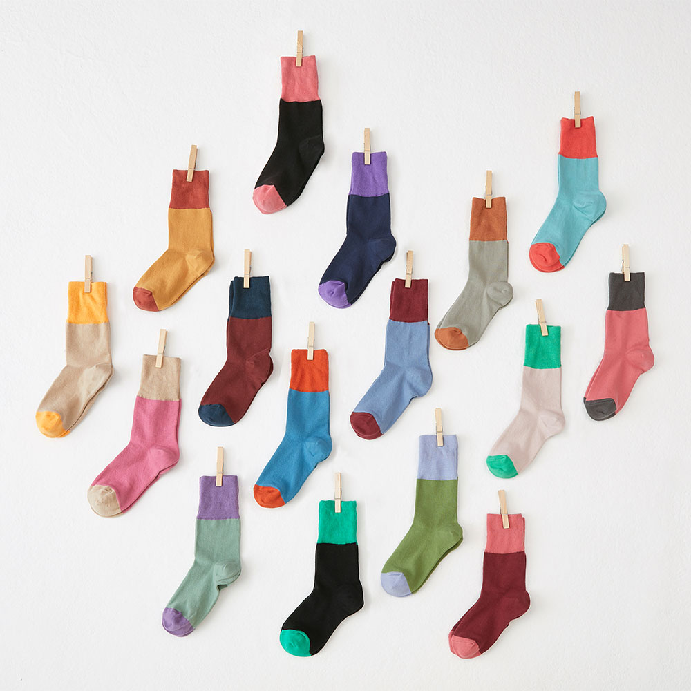 long band socks 3pack