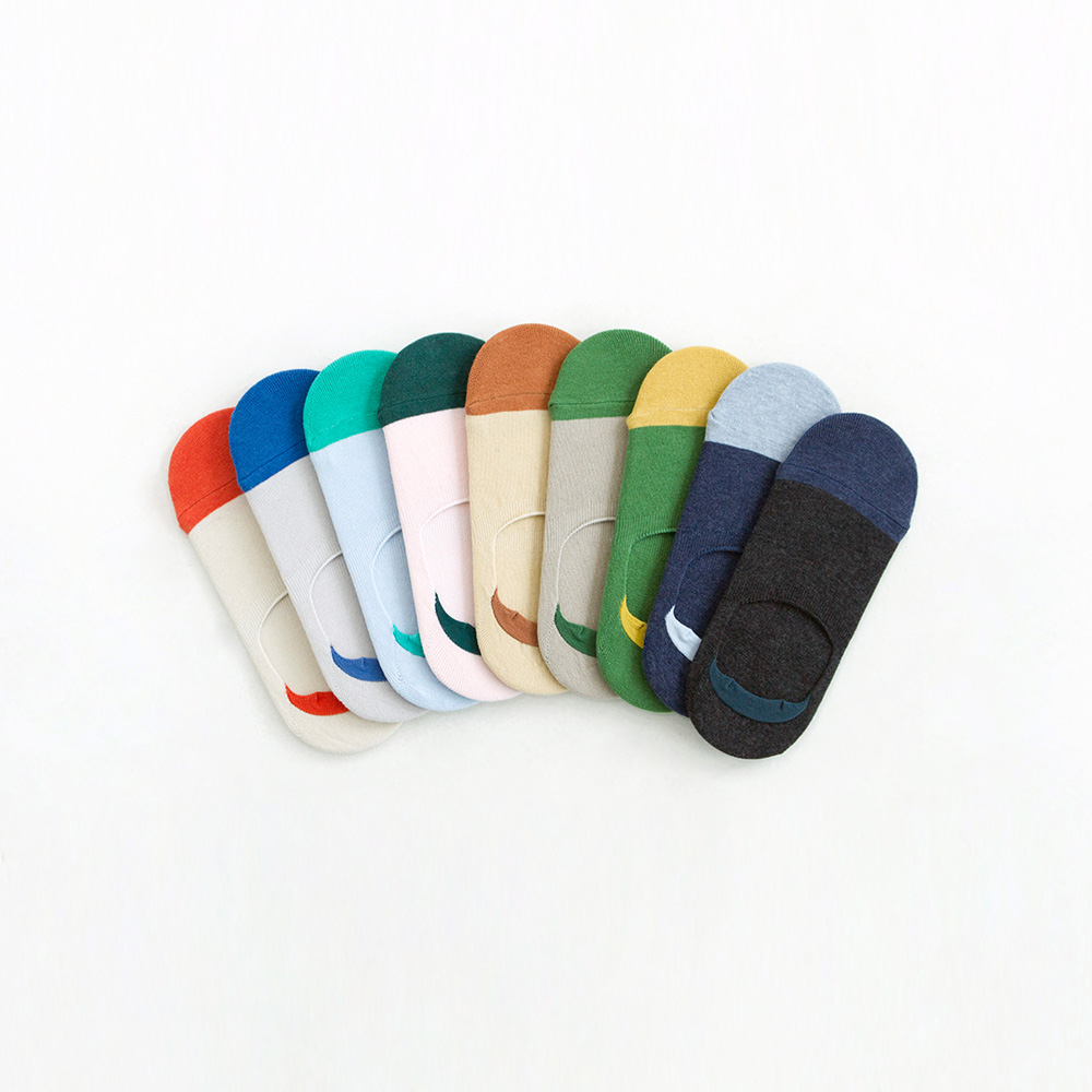 cover socks color 3pack (30%off)