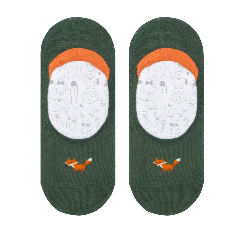 cover socks fox