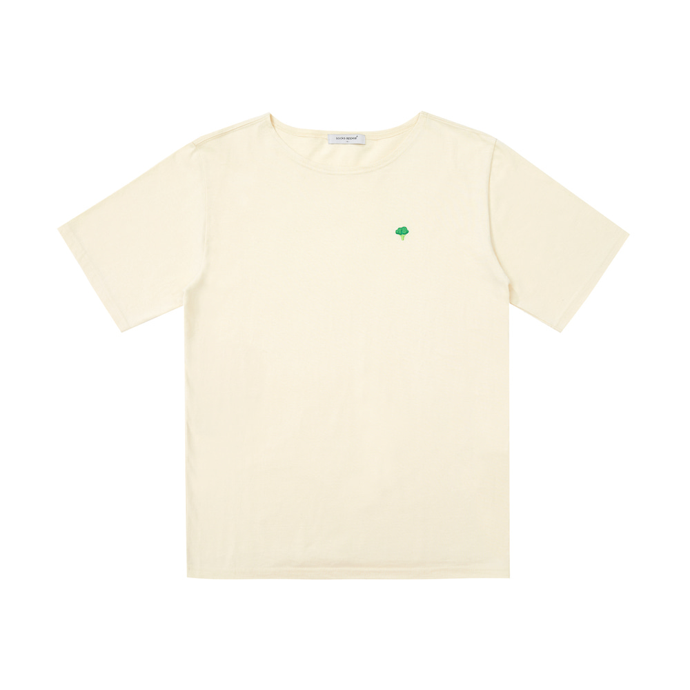 U neck T broccoli (OPEN EVENT 10% OFF)