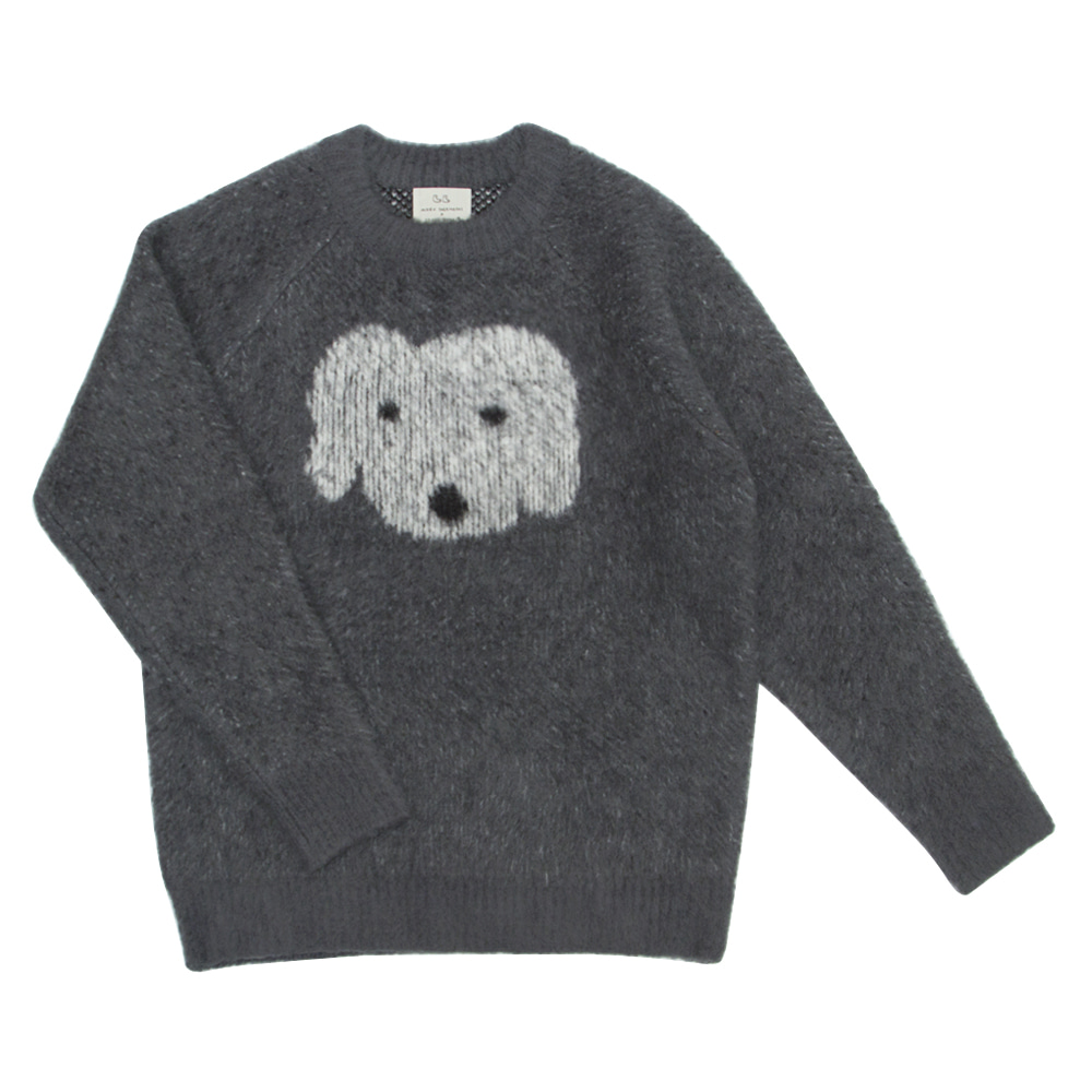 MOGU soft sweater fluffy dog