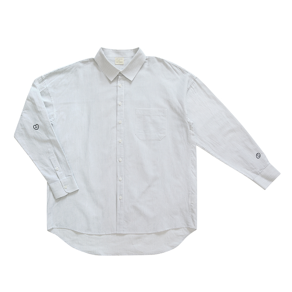 INAP shirt love white (EVENT 20% OFF)